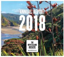 2018 Annual Report cover image