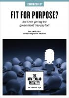 Fit for Purpose cover
