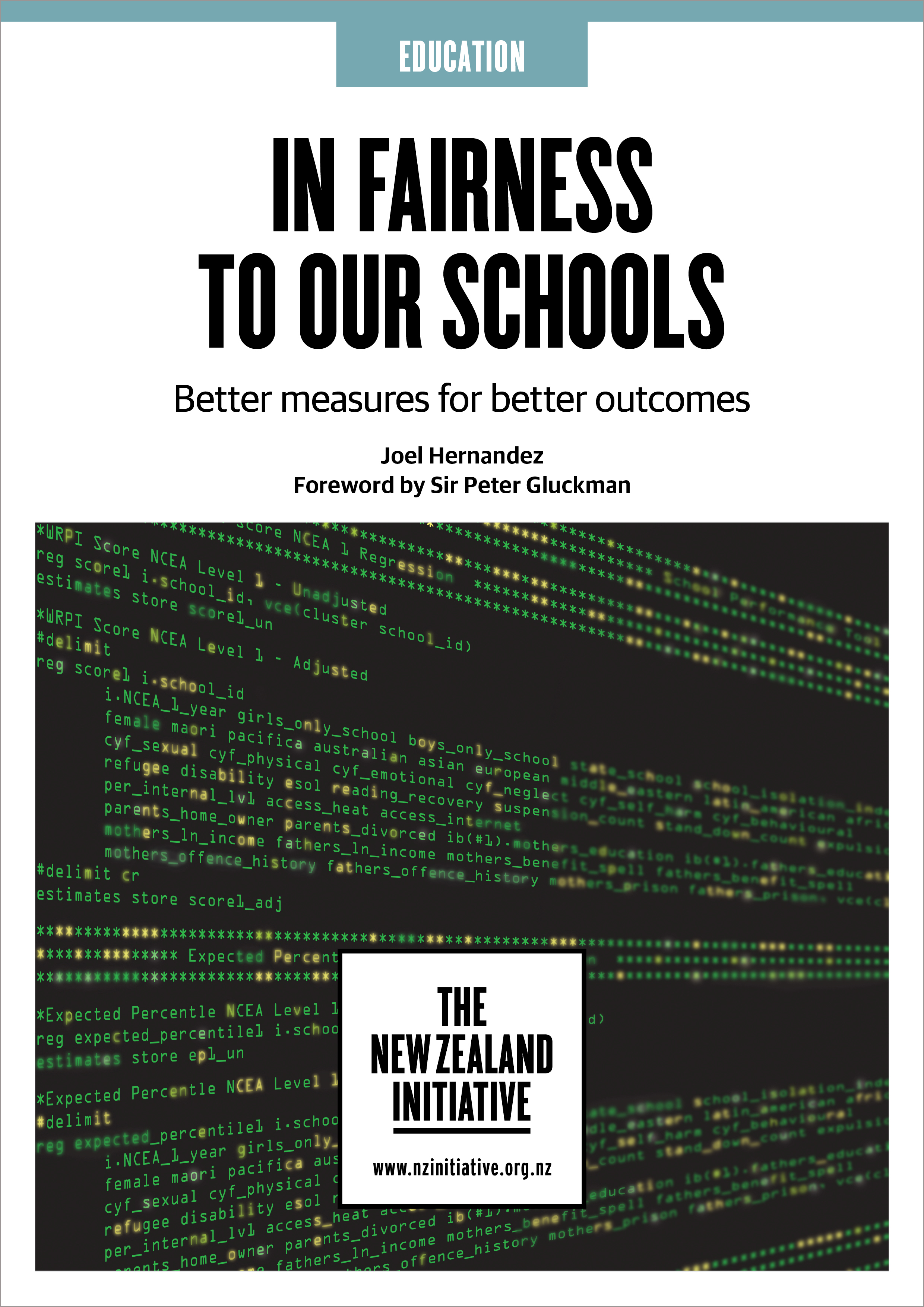 In Fairness to our Schools cover