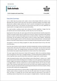 Safe Arrivals Cover2