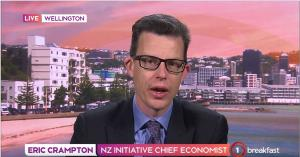 Dr Eric Crampton TVNZ Breakfast 21 September 2019